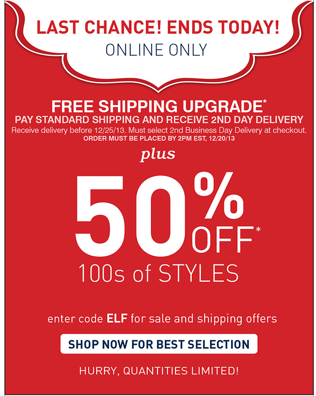 Save on Hundreds of Styles