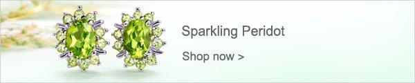 Sparkling Peridot