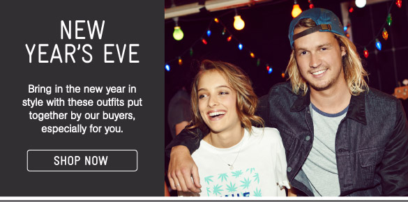New Years Eve - Shop Now