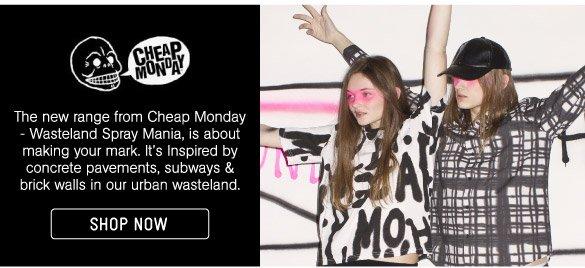 Shop Cheap Monday Now