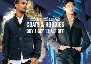 Shop Winter Warm Up ft. Coats & Hoodies