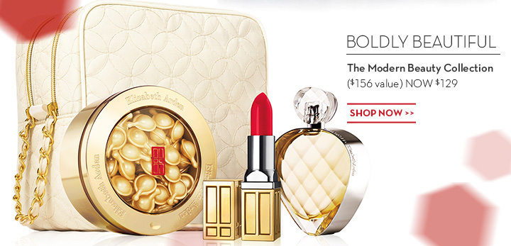 BOLDLY BEAUTIFUL. The Modern Beauty Collection ($156 value) NOW $129. SHOP NOW.