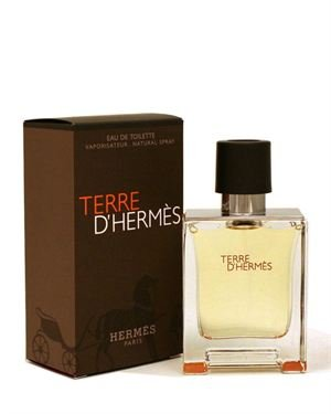 Terre D'Hermes Eau de Toilette Spray for Men- 1.7 oz.- Made in Italy