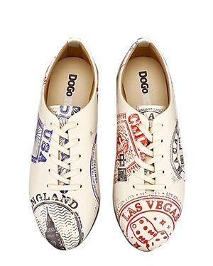 Dogo Stamps Women's Oxfords Made In Europe