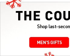 THE COUNTDOWN IS ON - MEN'S GIFTS