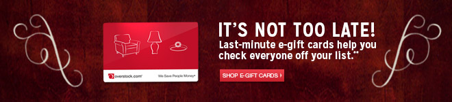 It's Not Too Late - Last-minute e-gift cards help you check everyone off your list** - Shop E-Gift Cards