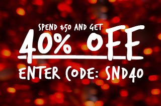 40% off Spend $50