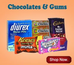 Chocolates and Gums