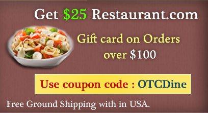 Get $25 Restaurant.com