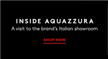From Italy to you: Shop Aquazzura shoes.