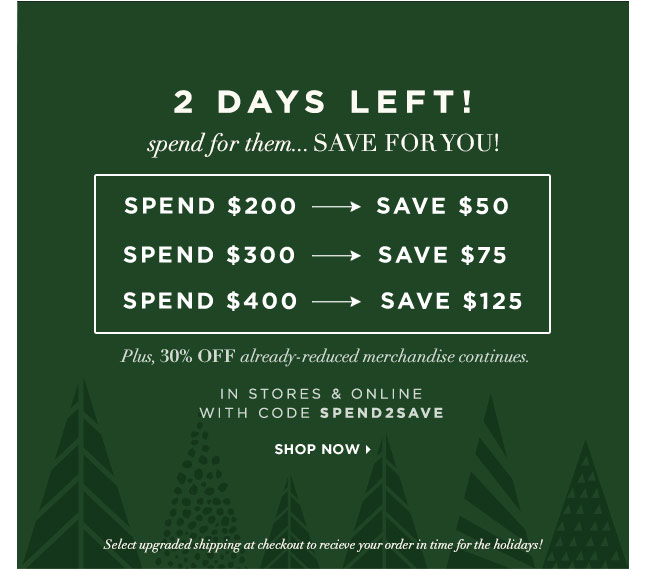 Last-Minute Gifts? Save Up To $125!