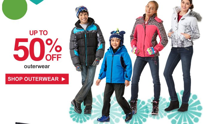 Up to 50% OFF outerwear | SHOP OUTERWEAR