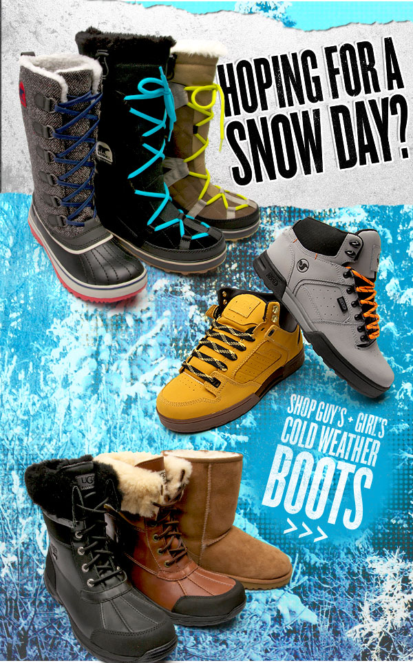 Hoping For A Snow Day? Shop for the Cold Weather at Journeys!