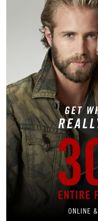 Get What You Really Want 30% Off - Shop Mens