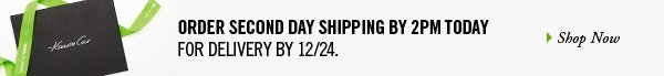 ORDER SECOND DAY SHIPPING BY 2PM TODAY FOR DELIVERY BY 12/24. // SHOP NOW