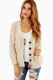 Jerri Button Up Cardigan
