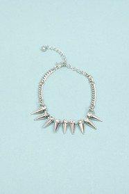 Crystal Spiked Bracelet