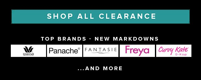 Clearance and Great Brands