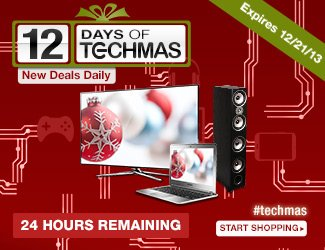 12 days of techmas - 24 hours remaining, start shopping