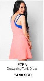 EZRA Drawstring Tank Dress