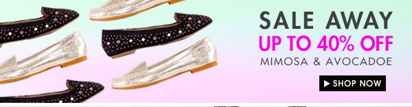 SALE-AWAY UP TO 40% OFF SHOES