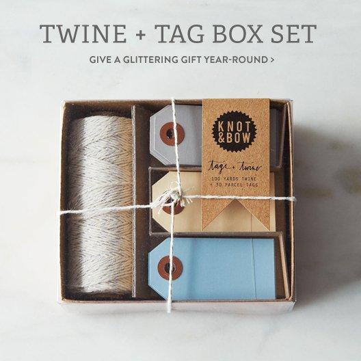 Twine + Tag Box Set