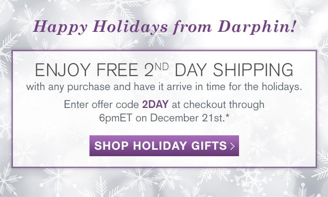 ENJOY FREE 2ND DAY SHIPPING