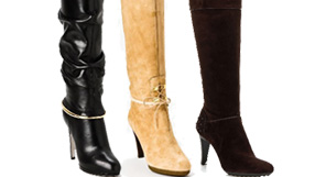 Sergio Rossi Leather Footwear
