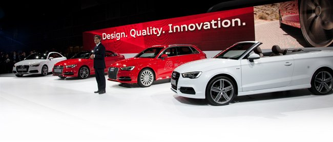 Audi steals the L.A. limelight