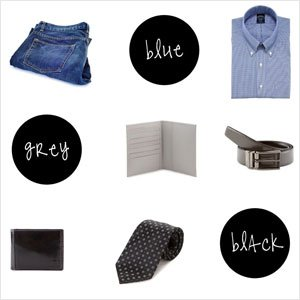 3 Go-to Colors for Guys