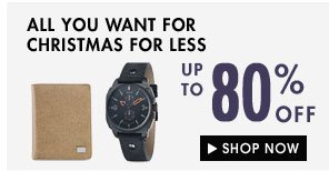All you want for Christmas for less!