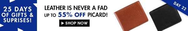 Up to 50% off Picard!