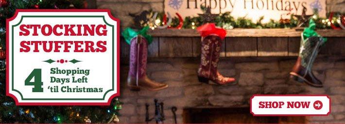 Stocking Stuffers - 4 Days Til Christmas
