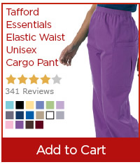 Tafford Essentials Elastic Waist Unisex Cargo Pant - Add to Cart