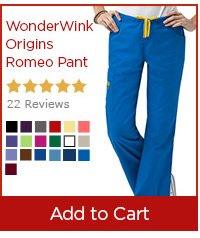 WonderWink Origins Romeo Pant - Add to Cart