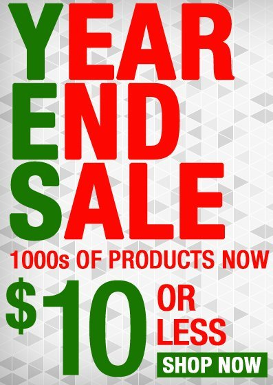 Year End Sale - Save up to 90%