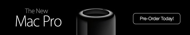 The New Mac Pro -- Pre-Order Today!