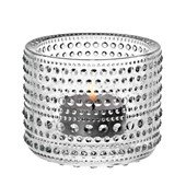 Kastehelmi Tea light bowl, Clear