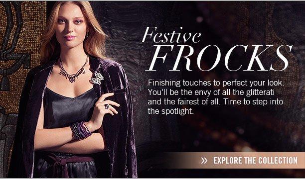 Festive frocks