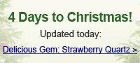 Delicious Gem: Strawberry Quartz