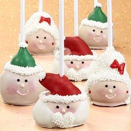 6 Handmade Christmas Cake Pops