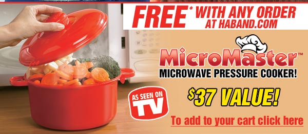 FREE* MicroMaster Microwave Pressure Cooker