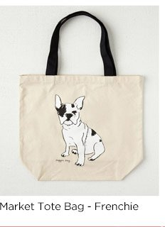 Market Tote Bag - Frenchie
