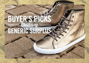 Shop Buyers' Picks ft. Generic Surplus