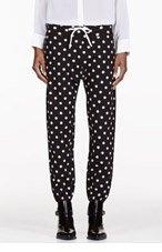 3.1 PHILLIP LIM Polka Dot Sweatpants With Rib Waistband for women