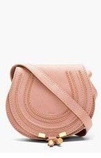 CHLOE Dusty rose Small Marcie shoulder Bag for women
