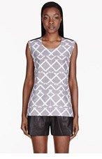 MAIYET White silk printed Tunic for women
