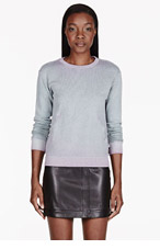 DIESEL Turqoise Faded Ombre Sweater for women