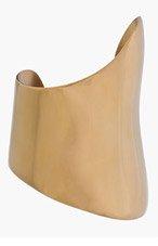 MAIYET Gold Asymmetric Cuff for women