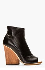 MAIYET Stretch Wedge Ankle boots for women